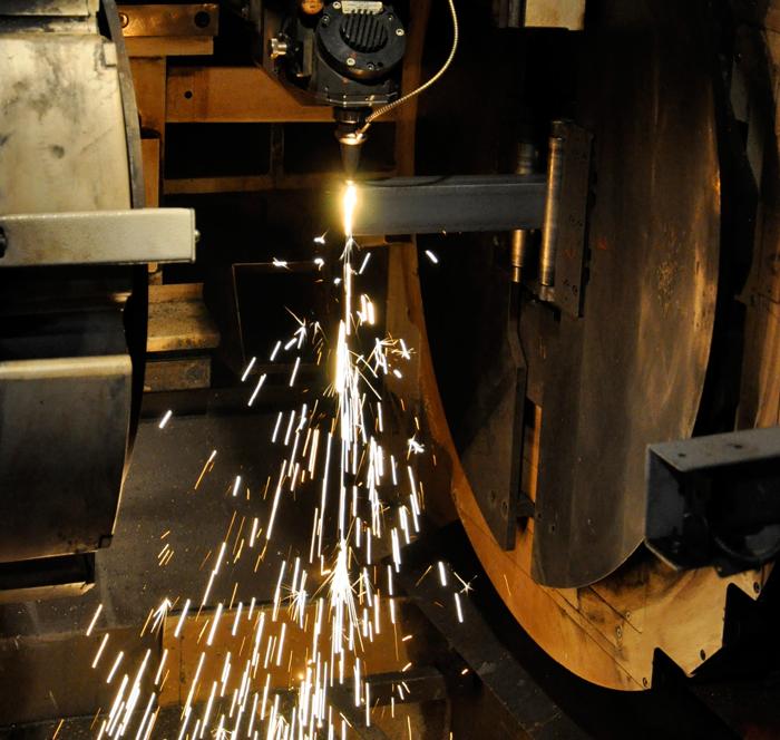 3D Tube Laser Cutting | Summit Steel & Manufacturing