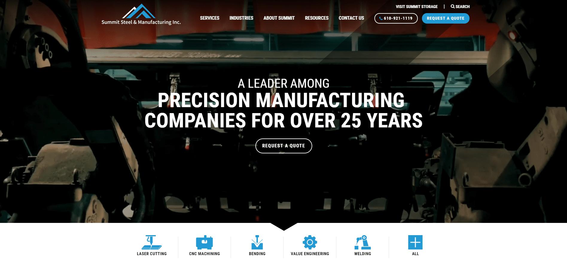 Summit Steel wins Horizon Interactive Award