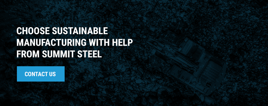 Choose sustainable manufacturing